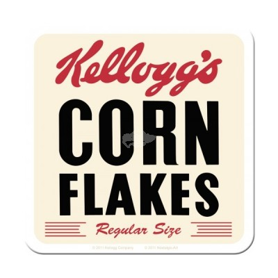 "Untersetzer ""Kelloggs Cornflakes Retro Package"""