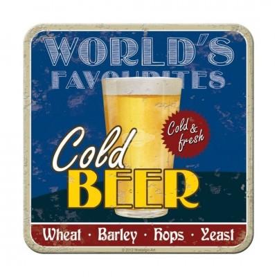 """Untersetzer """"Cold Beer"""""""