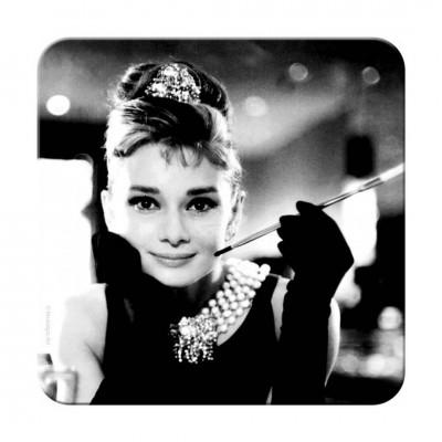 """Untersetzer """"Audrey Hepburn - Holly Golightly""""-Auslaufartikel"""