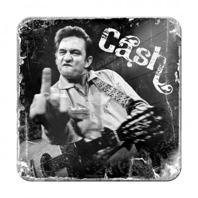 "Untersetzer ""Johnny Cash - Finger"" Nostalgic Art"