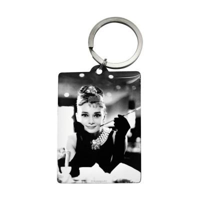 """Schlüsselanhänger """"Audrey Hepburn - Breakfast at Tiffanys"""" Nostalgic Art-Auslaufartikel"""