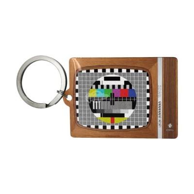 """Schlüsselanhänger """"Retro TV - Retro Wave"""" Nostalgic Art-Auslaufartikel"""