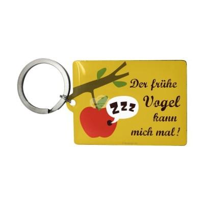 """Schlüsselanhänger """"Der frühe Vogel - Smile"""" Nostalgic Art-Auslaufartikel"""