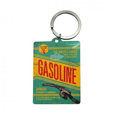 """Schlüsselanhänger """"Gasoline - Best Garage"""" Nostalgic Art-Auslaufartikel"""