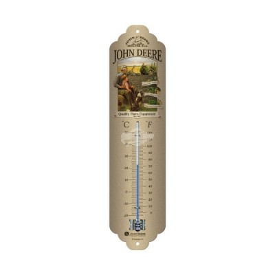 "Thermometer ""Grandfather - John Deere"" Nostalgic Art"