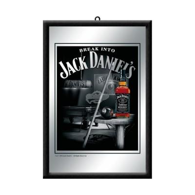 """Spiegel """"Jack Daniels Billard - Jack Daniels"""" Nostalgic Art"""