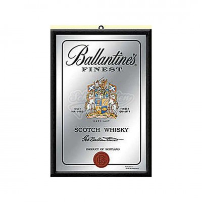 "Spiegel ""Finest Scotch - Ballantines "" Nostalgic Art"