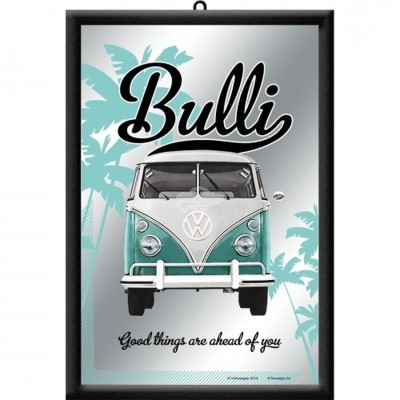 "Spiegel ""VW Good things are ahead of you - VW Bulli"" Nostalgic Art"