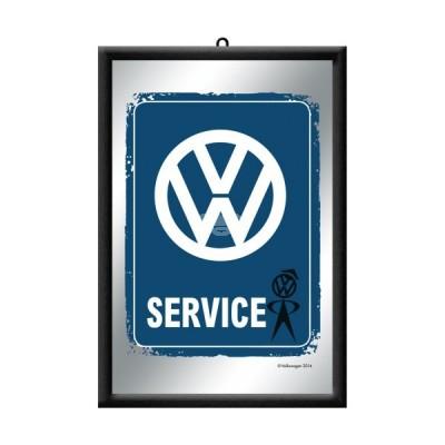 "Spiegel ""VW Service"" Nostalgic Art"
