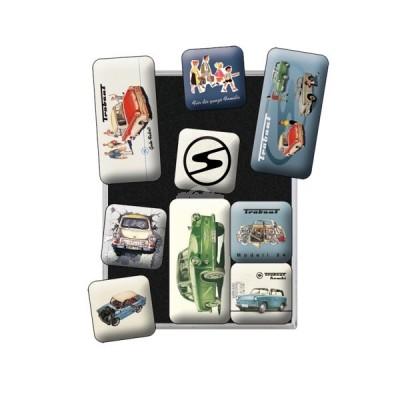 """Magnet-Set 9-tlg """"Trabant"""" Nostalgic Art"""