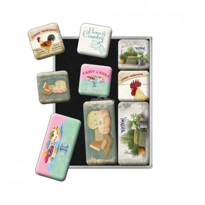 "Magnet-Set 9-tlg ""Best of - Home & Country"" Nostalgic Art"