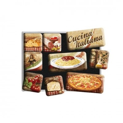 "Magnet-Set 9-tlg ""Cucina Italiana - Home & Country"" Nostalgic Art"
