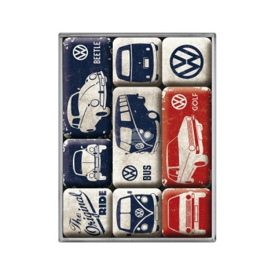 "Magnet-Set 9-tlg ""VW The Original Ride"" Nostalgic Art"