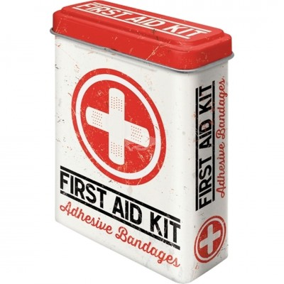 "Pflasterdose - ""First Aid Kit - Classic"" Nostalgic Art"