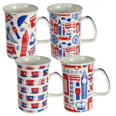 Tasse London - versch. Designs