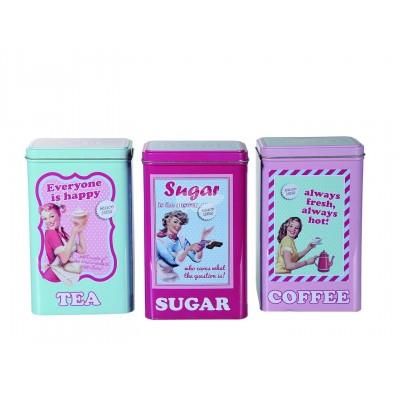 Vorratsdosen-Set für Tee