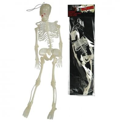 "Halloween ""leuchtendes Skelett"""