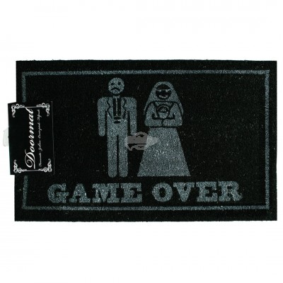 "Fußmatte ""Game Over"""