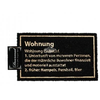 """Fußmatte """"Wohnung"""""""