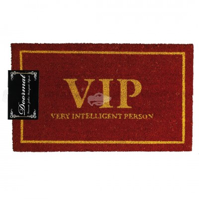 "Fußmatte ""VIP - very intelligent Person"""