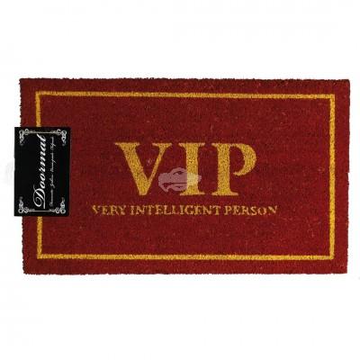 """Fußmatte """"VIP - very intelligent Person"""""""