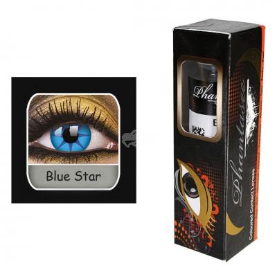 Kontaktlinsen - Blue Star