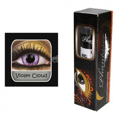 Kontaktlinsen - Violet Cloud