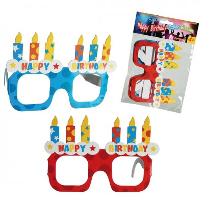 "Papier-Brille ""Happy Birthday"""