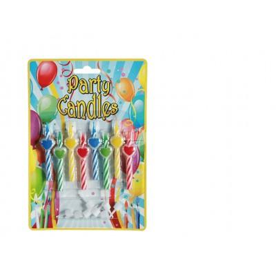 8 Geburtstagskerzen