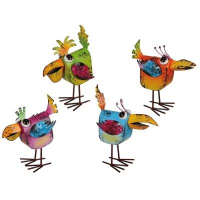 """""""Vogel"""" - bunt - auf Spiralfedern – versch. Farben"""