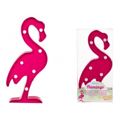 Flamingo Leuchte mit 7 LED