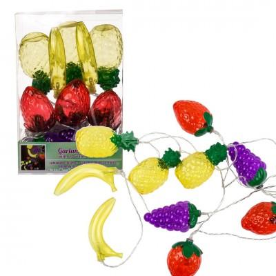 LED Lichterkette im Party Früchte-Design