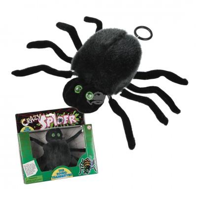 """CRAZY SPIDER"""" - geräuschempfindliche Spinne"""