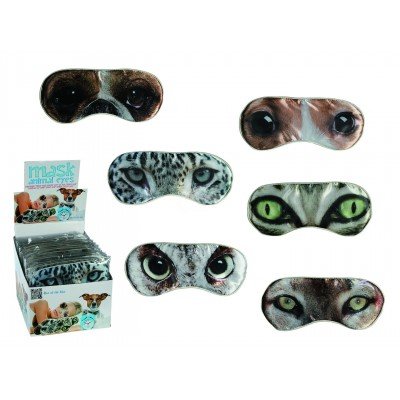 Schlafbrille Animal Eyes - versch. Designs