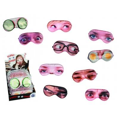 Augenmaske - versch. Designs