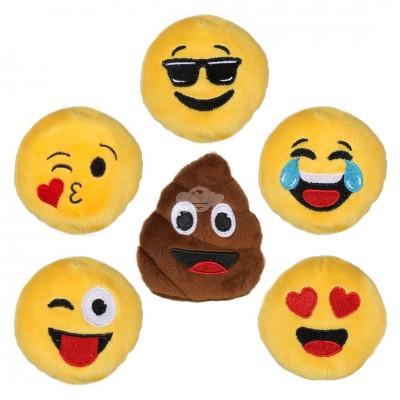 """Plüsch Ball """"Emoji / Smiley / Emotion"""" - versch. Motive"""