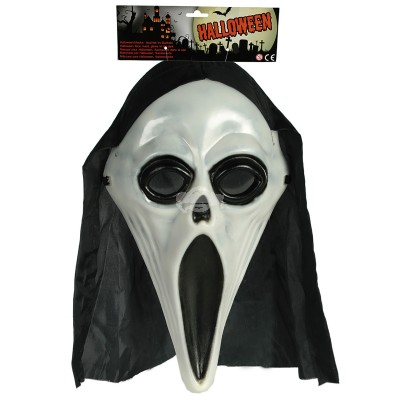 "Halloween Maske ""Scream"" - leuchtend"