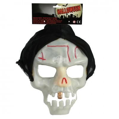 """Halloween Maske """"Skull"""" - leuchtend"""