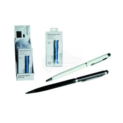 Metall-Kugelschreiber mit Touchscreen-Eingabestift