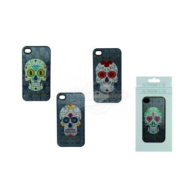 "3D Handyhülle ""Coloured - Skull Diamant"" iPhone 4 & 4s"