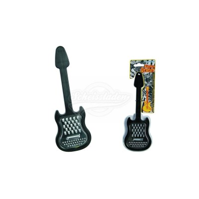 """Küchenreibe """"Gitarre"""" schwarz"""