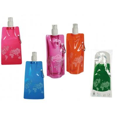 Faltbare Trinkflasche - versch. Farben
