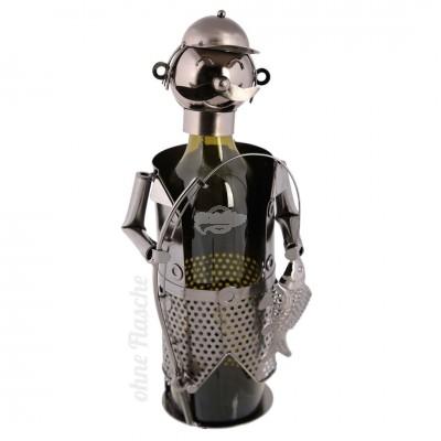 """Metall Flaschenhalter """"Angler"""""""
