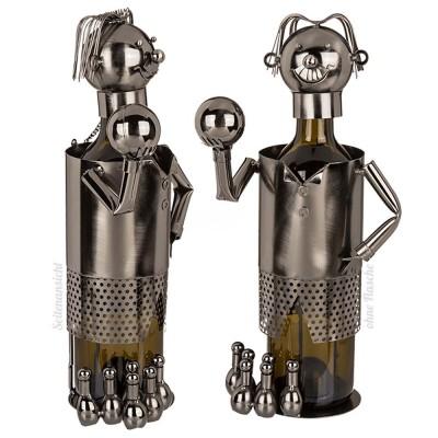 """Metall-Flaschenhalter """"Bowler"""""""