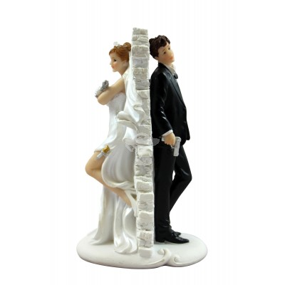"""Dekofigur - Mr. & Mrs. """"Brautpaar mit Schuss"""""""