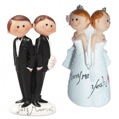 Dekofigur - Brautpaar gleichgeschlechtlich - versch. Designs