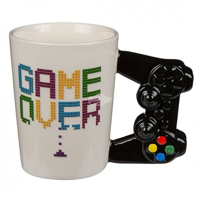 Becher mit Controler-Griff ''Game Over''