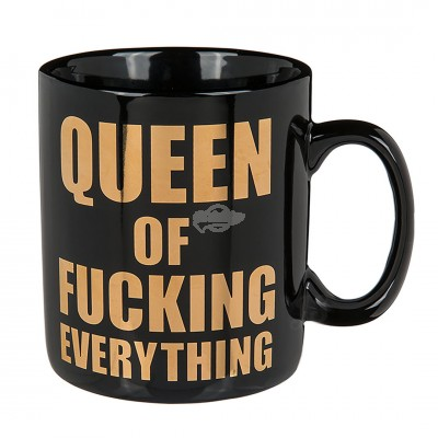 "Becher ""Queen of fucking everything"""