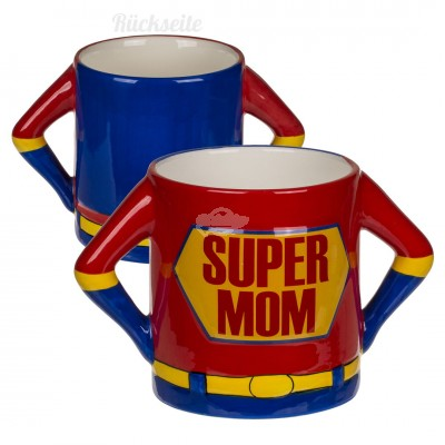 "Becher ""Super Mom"" Kaffeebecher"