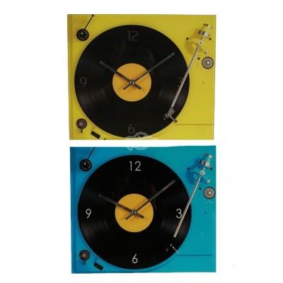 "Wanduhr ""Plattenspieler"" LP Nostalgie Retro Vinyl"